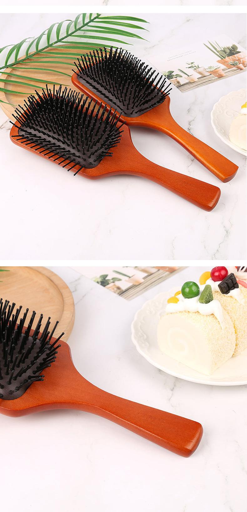 Best Scalp Brush Shower Bath Massage Brush Comb Hyper Crimson