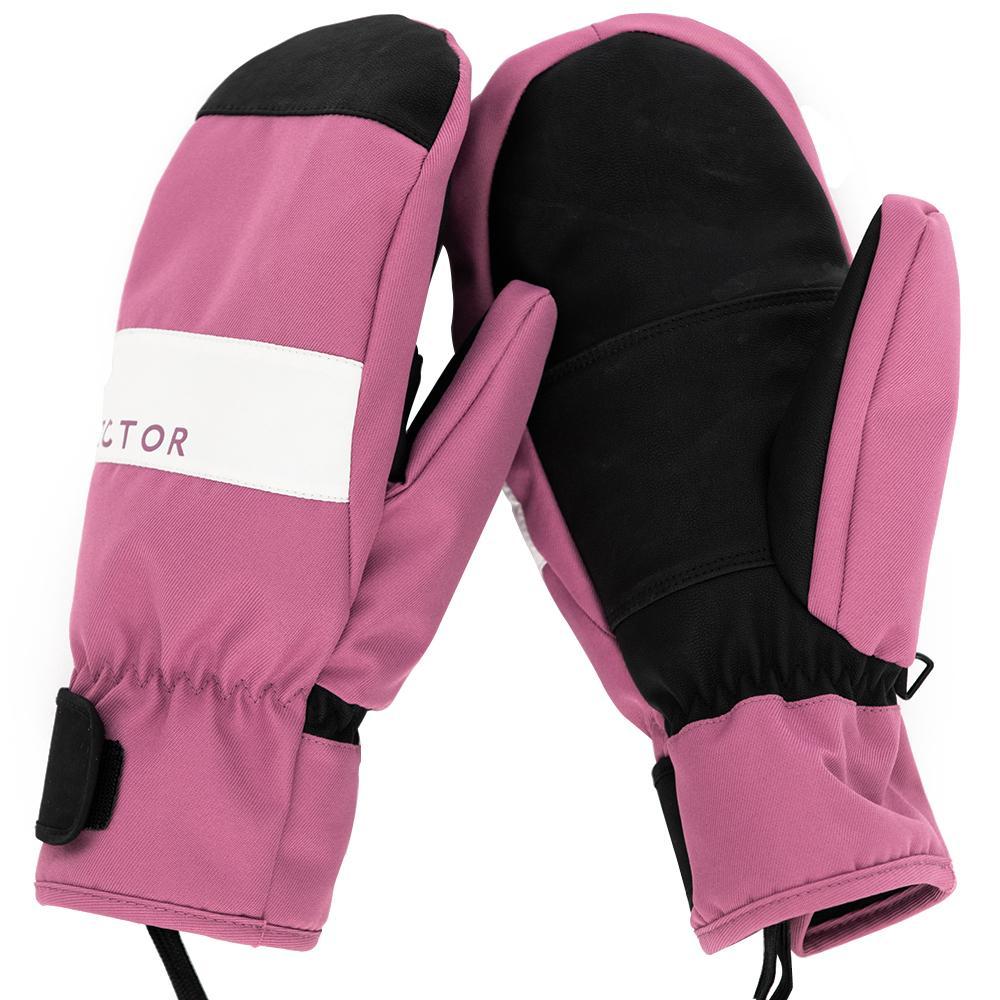 Vêtements Accessoires de ski Gants extra épais femmes 2-IN-1 Gants mitaines Ski Snowboard SNOW Homme Sport d'hiver Réchauffez Windp imperméable à l'eau ...