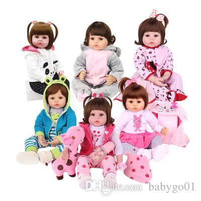 Baby Spielzeug Reborn lebensechte echte Puppe Ganzkörper Silikon wasserdicht Bad Spielzeug beliebte heißer Verkauf Reborn Kleinkind Baby Puppen soft touch