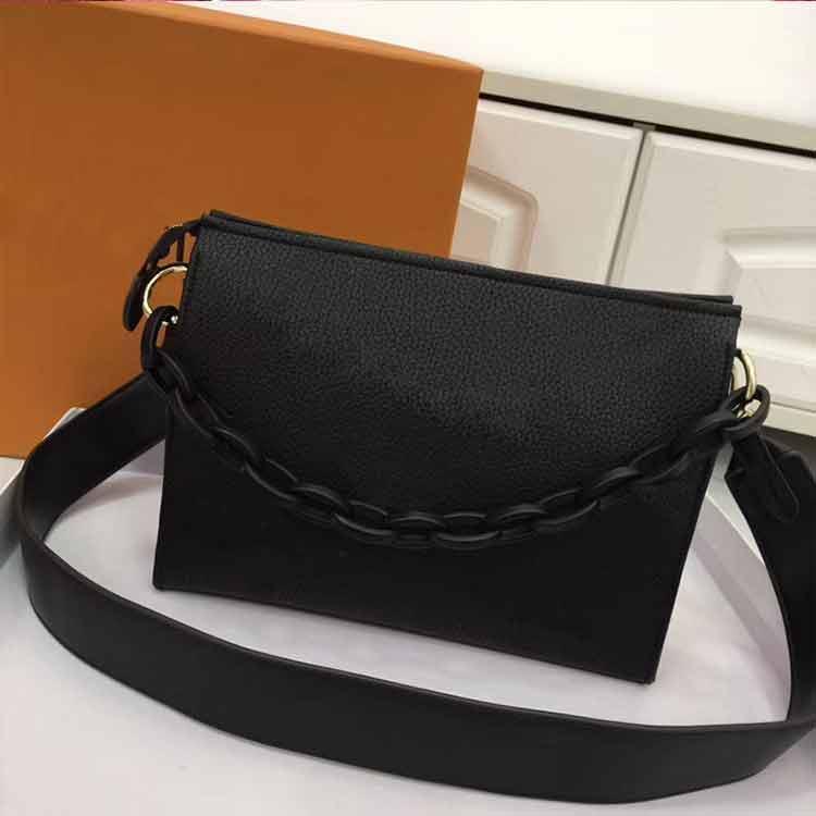 الأزياء حقيبة يد المرأة حقيبة حقيبة متعدد الألوان الرجال مصمم الكتف الفاخرة المحافظ بو جودة عالية والجلود رسول حقيبة سلسلة محفظة M25h20d5