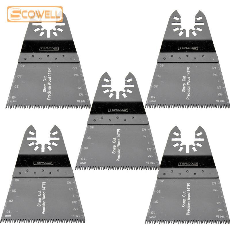 30% de réduction 68mm Triangle oscillantes Lames de scie rénovation Plunge Lames de scie à bois rapide et précision de coupe Multi Tool