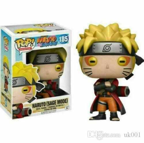 Naruto (Adaçayı Modu) # 185 Funko Pop Vinil Şekil NARUTO Shippuden Oyuncak Hediye