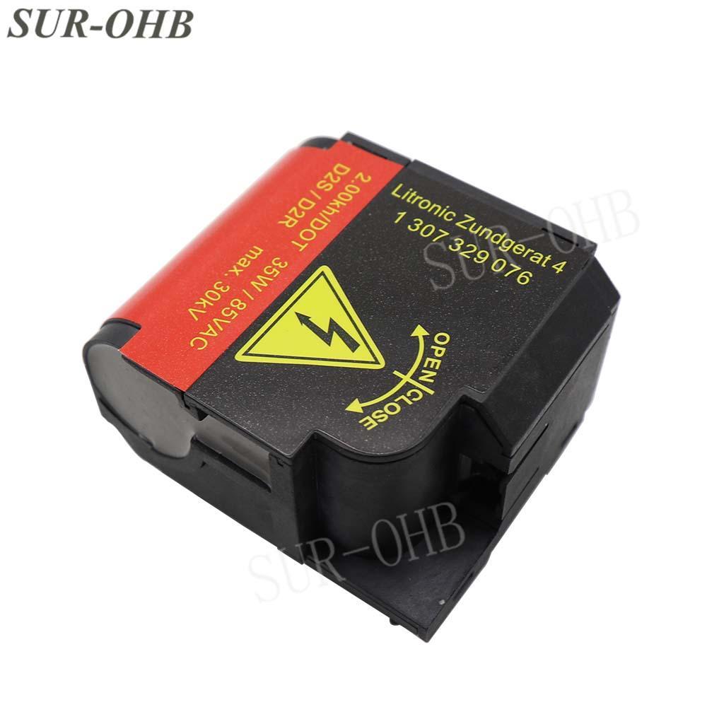 Genuine E46 E63 Xenon 1307329076 HID Igniter D2S Headlight 5DD35449100 D2R Bulb Holder for W220 A3 C30 711307329076 Lamp Socket