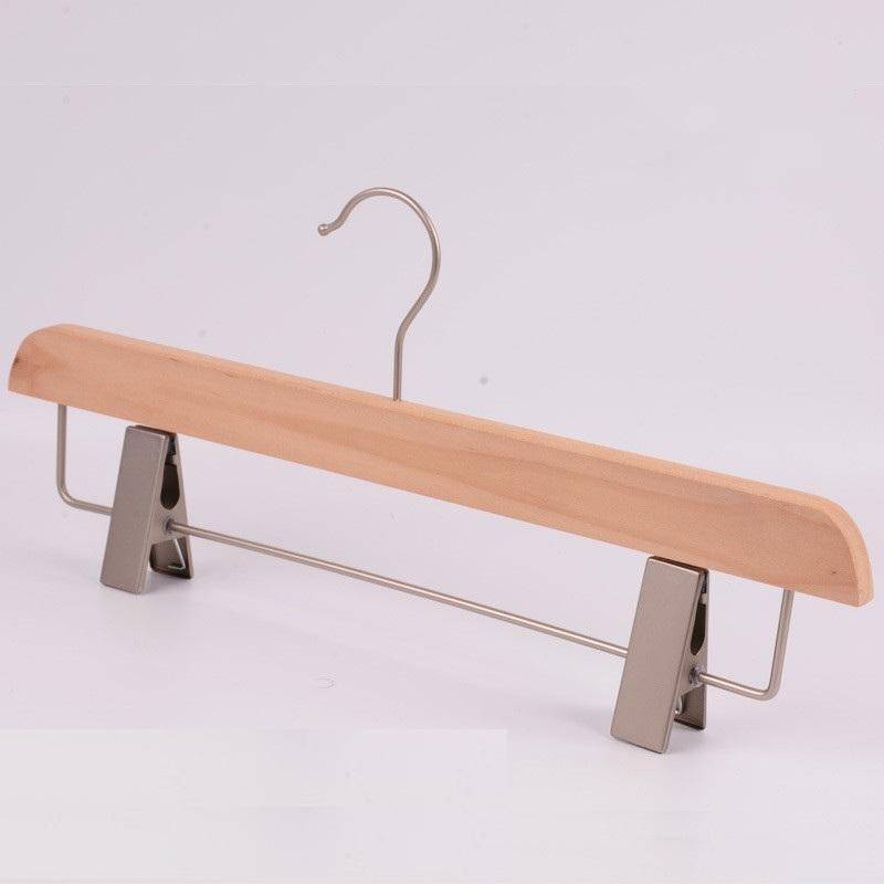 Взрослые и ребенок вешалка дерево вешалки натуральной древесины брюки стойки войти без - краски вешалкой не - проскользнуть детей вешалка EEA1372