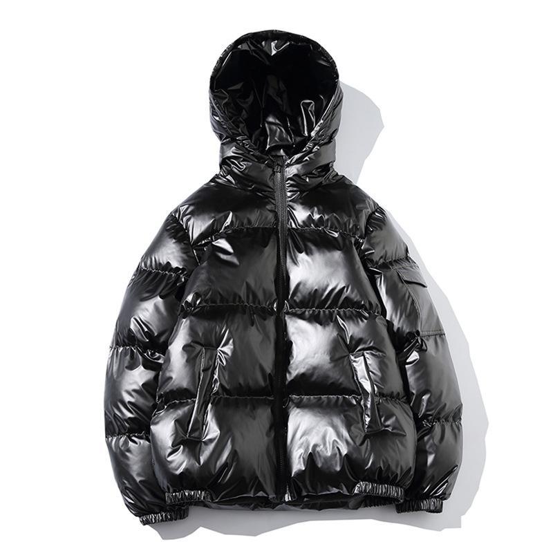 2018 männer Jacke Mäntel Verdicken Warme Winterjacken Männlichen Parka Mit Kapuze Outwear Baumwolle gefütterte Jacke koreanische mode mann kleidung