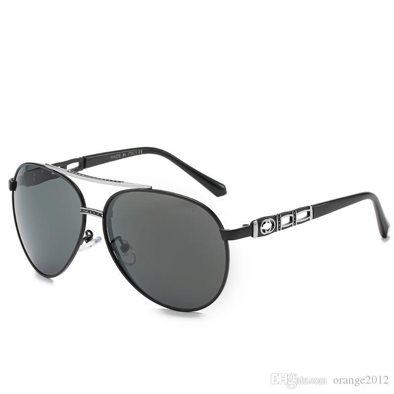 남성의 여성의 편광 운전 선글라스 빈티지 파일럿 안경 레트로 차양 금속 안경 스포츠 태양 안경 남성 봄 힌지 UV400