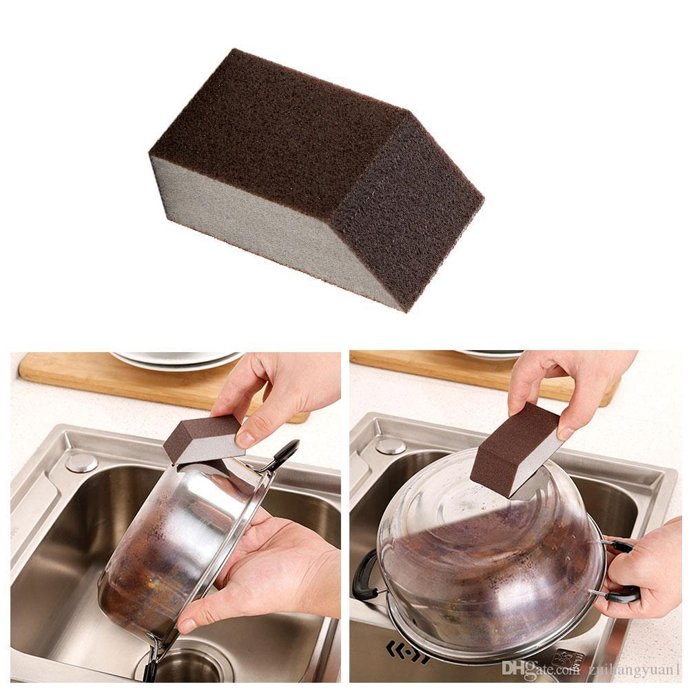 Limpeza De Esponjas Remoção De Ferrugem Nano Emery Cozinha Mágica Lavagem De Esponja Magia Forte Excepto Limpador De Ferrugem Ferramenta De Casa De Banho Cozinha