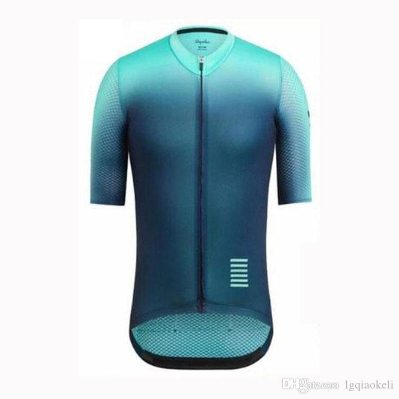 Рафа 2020 Велоспорт Джерси Летние гонки Tops задействуя одежда Ropa Ciclismo Quick Dry Короткие рукава рубашки MTB велосипед Джерси K121901