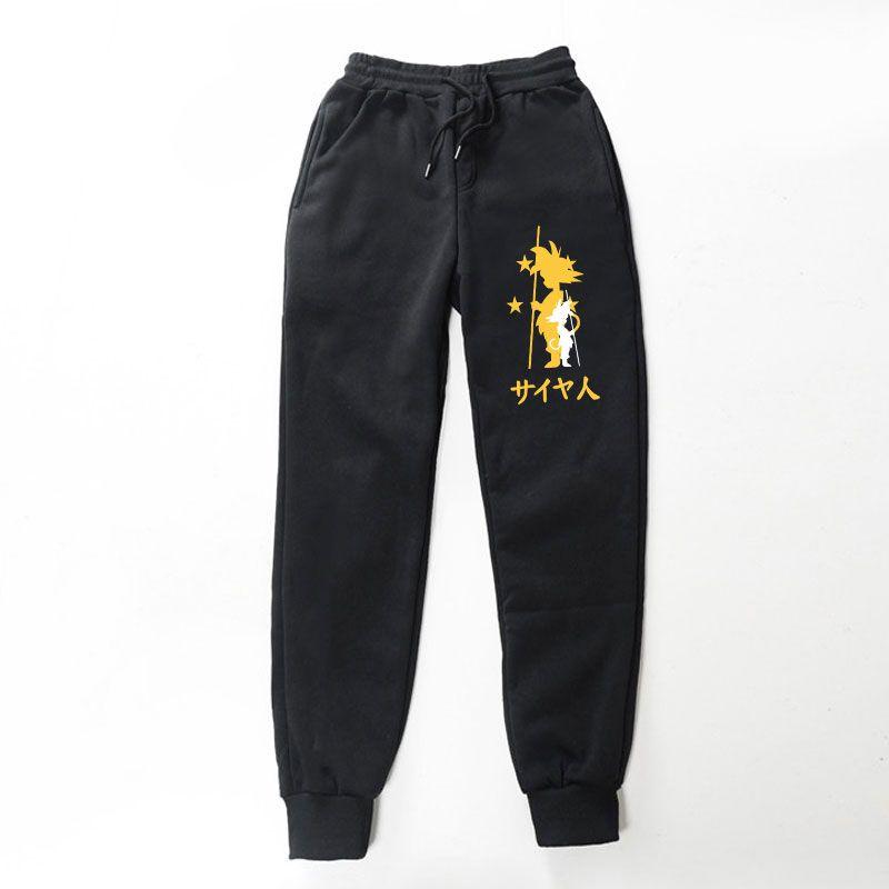 Последние японские мультфильм семь драконов шары стиль различных печати уличных мальчиков досуг беговые брюки хип-хоп свободный стиль
