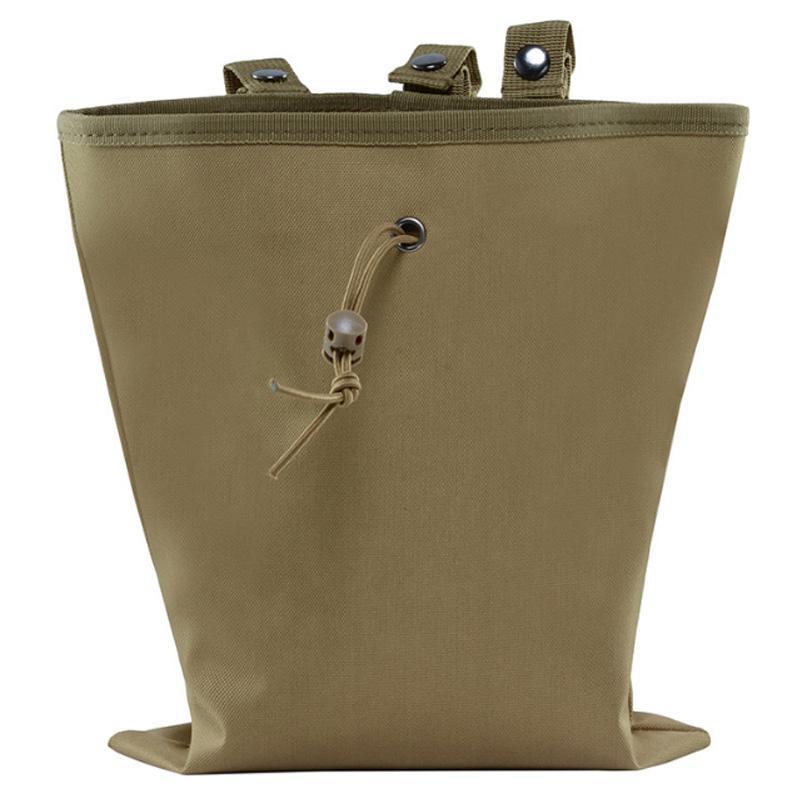 30 x 24.5Cm Molle Magazine Dump Pouch Recovery Bag Waterproof For Waist Belt Outdoor Packs