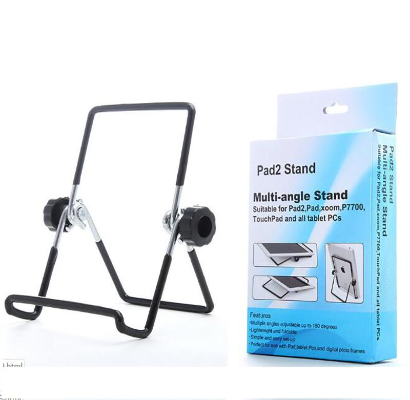 Mobile phone tablet computer stand lazy metal folding rotating stand Spot wholesale