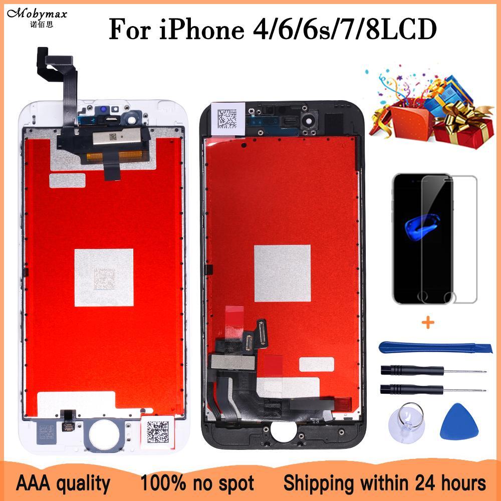 Оценка хорошо +++ для iPhone 6S экрана с инструментами и отпуском замена стекла 6/7/8 ОК-дисплей с сенсорной сборочным