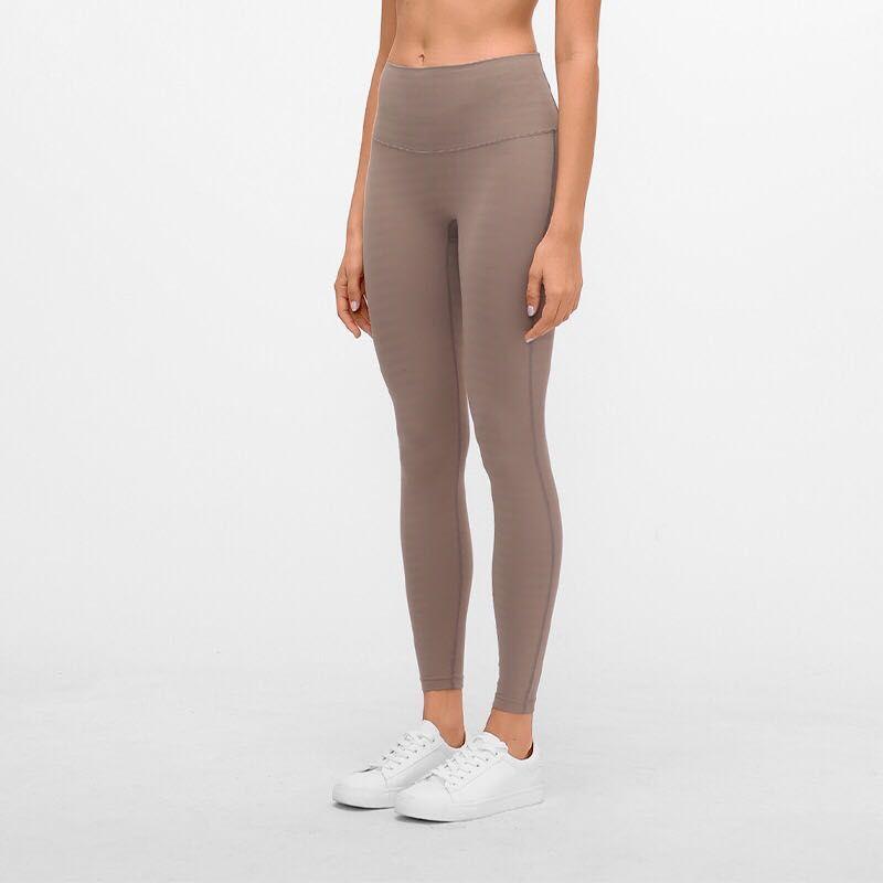 19107 polainas de las mujeres de yoga no hay vergüenza niñas corriendo las mujeres atléticas de yoga trajes de damas deportes de cintura alta del vientre cerrado Spandex Medias