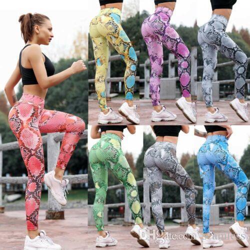 Venta al por mayor 2019 pantalones de yoga nepoagym Fitness Leggings pantalones de cintura alta leggings sin costura gym shark Women Pantalones Colorvalue Sport Leggings Women