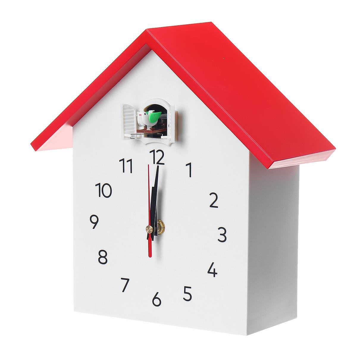 Cuckoo Quartz Wall Clock Modern Bird Hanging Watch Decoration Alarm Clocks Horologe Home Living Room Fashion House Timing