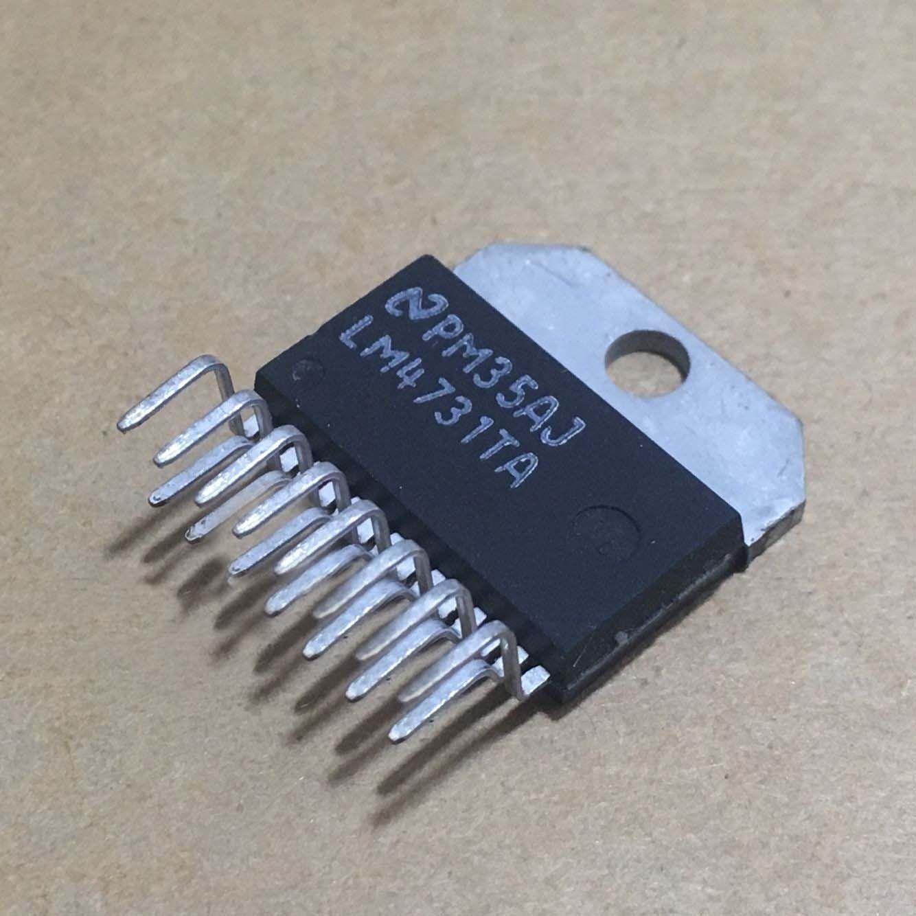 2pcs LM4731TA audio power amplifier