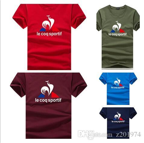 2Long bande lettre signature étoile col rond T-shirt des hommes T-shirt respirant à manches courtes T-shirt décontracté