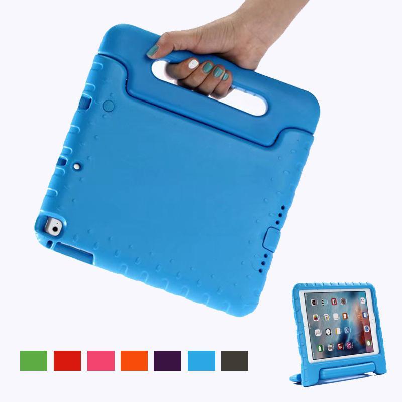 Per IPad 6a generazione Custodia per bambini Shockproof Eva Maniglia portatile Supporto per la mano per Ipad 2018 Custodia 9.7 Air 2 Air 1 Fundas