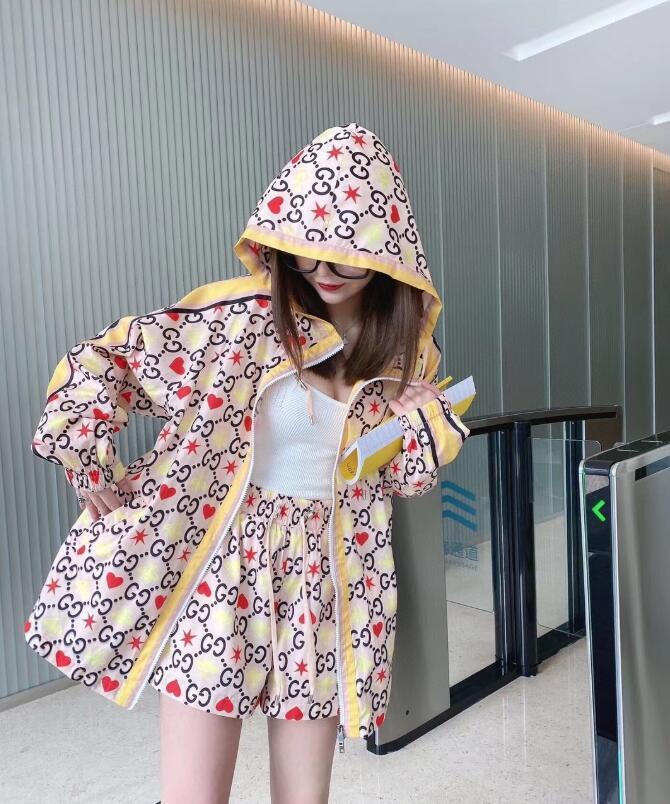 Europei e americani strada abbigliamento crema solare sottile strato personalità ragazza 2020 nuove donne cappotto