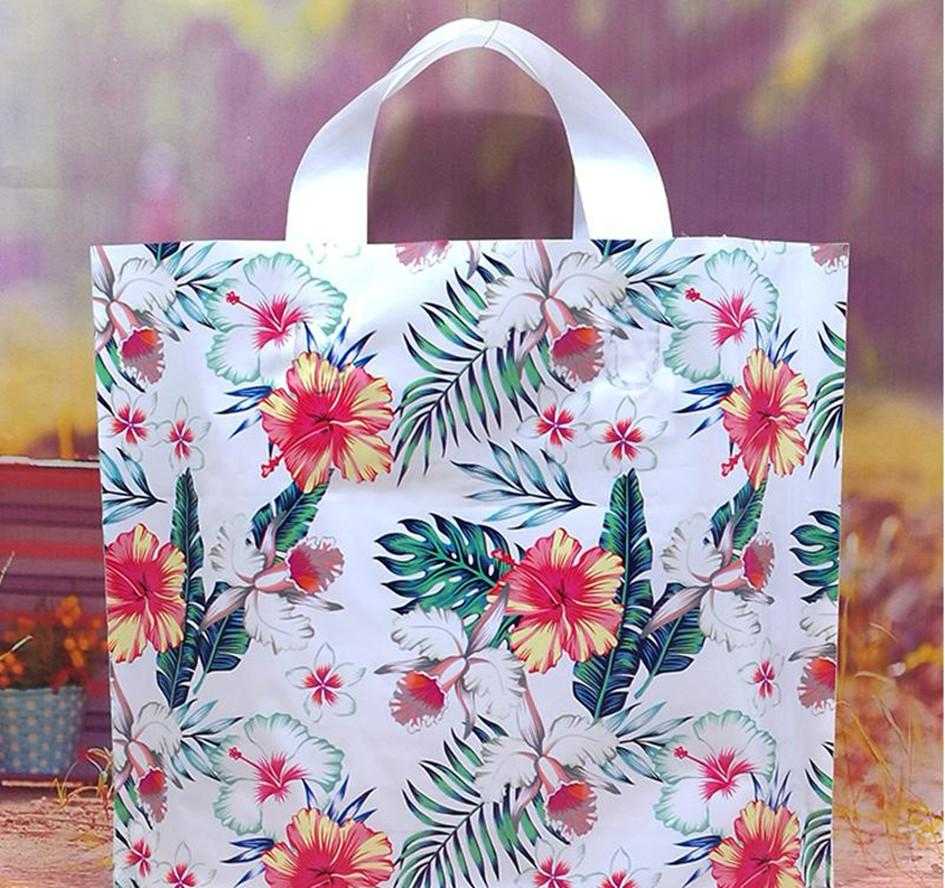 2020 New OC Fashion Plastic bag Custom logo pattern Cosmetic bags Tote Shopping bag large size free delivery