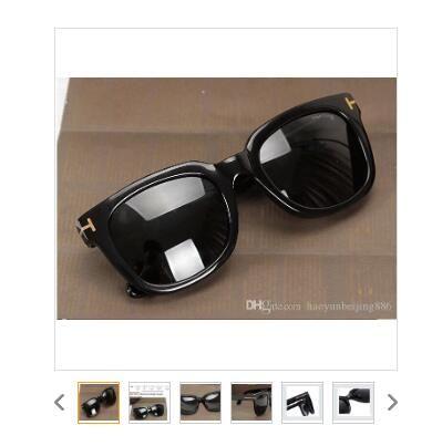 2020 lüks üst qualtiy Yeni Moda Erkek Kadın Erika Gözlük ford Tasarımcı Güneş Camları 211 Tom Güneş orijinal FT kutu 2020 ile