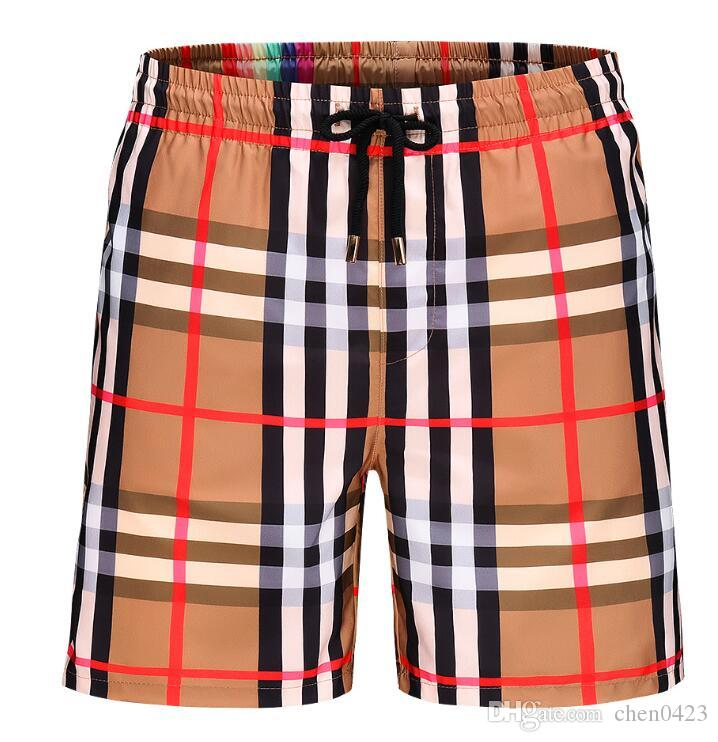 Neue Art und Weise Mens schließt beiläufige Solid Color Board Shorts Mann-Sommer-Art-Strand-Badeshorts Männer Sport Short M-3XL
