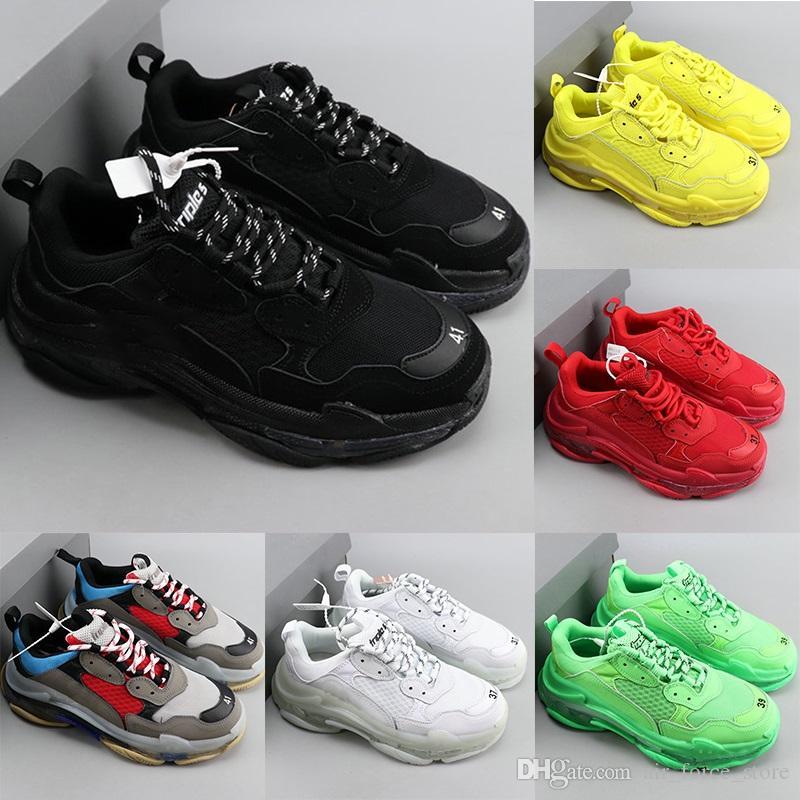 2020 nuova presenta il nuovo Triple S scarpe da tennis, Alta Moda Spec addestratori, pattini per gli uomini, Uomo corrente di scarpe, gli uomini di trippa-S Formazione Sneakers Zapatos