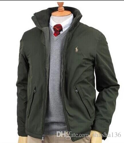 POLO 8 랄프 로렌 럭셔리 남성 자켓 코트 패션 자수 다운 파카 캐주얼 코튼 의류 재킷 고품질 후드 코트 재킷