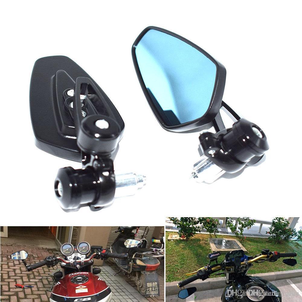 1 pair bike mirror Adjustable mirror angle free rotate motorbike mirror safe