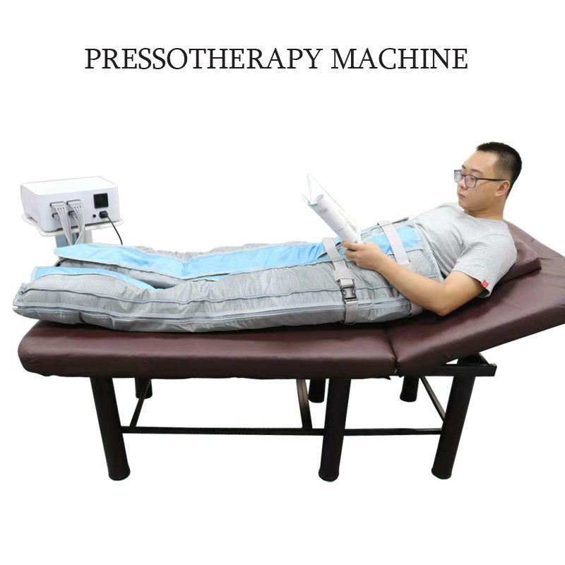 Nuovo arrivo pressione d'aria di pressione tuta dimagrante Therapy pressoterapia Aria Saluto uso del salone di pressione macchina di dimagrimento corpo