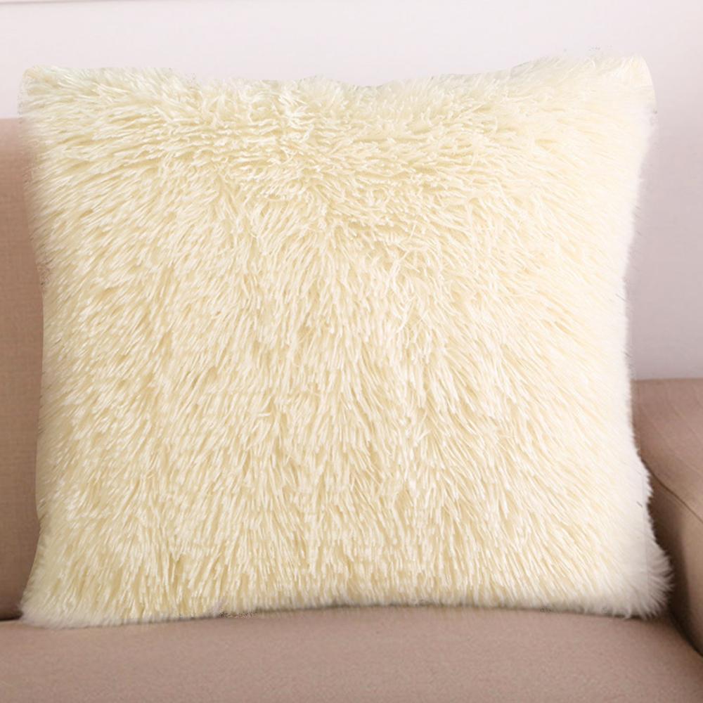 Faux Fur Shaggy Plush Pillowcase Waist Throw Cushion Cover Pillow Decorative Cushion Cases For Sofa Home Chair Car Almofada Pillow Case King Duvet Cover Body Pillow Cover From Bdhome 24 02 Dhgate Com