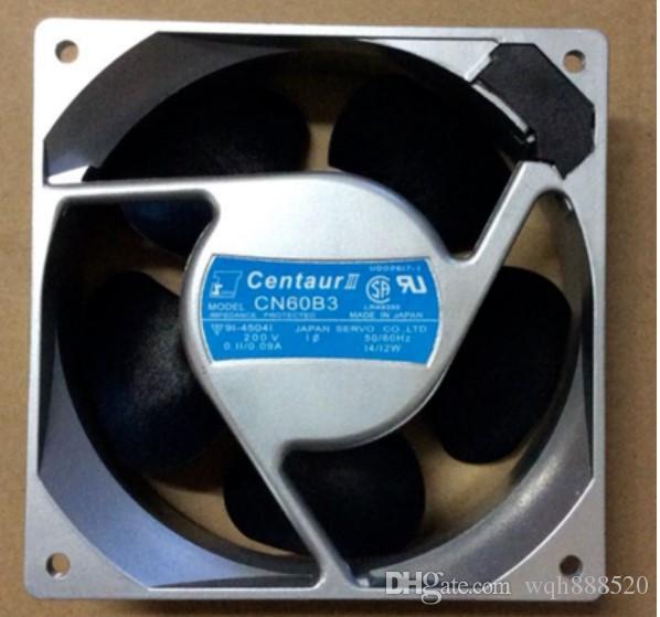 Nouveau gros original SERVO CN60B3 120 * 120 * 38MM 200V 14 / 12W ventilateur de refroidissement