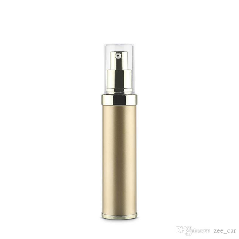 30ml airless Bottle /gold Vacuum Pump Bottle Lotion Bottle Used for Travel Refillable Bottles Container Cosmetic Bottles