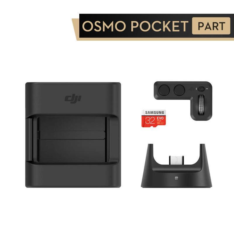 Osmo Expansion Kit Pocket Controller roue Module sans fil de montage d'accessoires Carte MicroSD pour Osmo Pocket