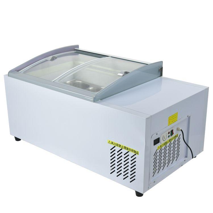 Kolice коммерческих столешница 6 лотков мороженое витрина морозильная камера/столешница мороженного замораживателя/столешницы мороженое дисплей морозильник/охладитель