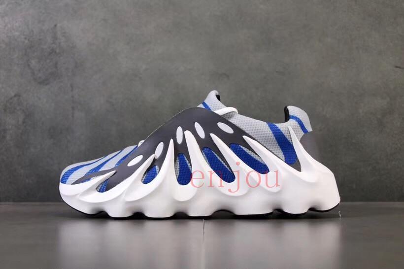 Com a caixa de 2019 notícias Mens West 451 Kanye 3 M Vulcão Wave Runner Designer shoes 451 sapatos ao ar livre fluorescentef70ed4f98 #