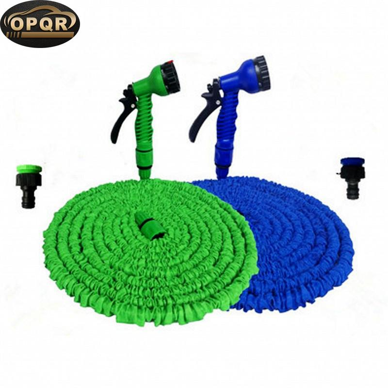 25FT Expandable Water Spray Nozzle Garden Hose Miniature Garden Hose With Holder and Nozzle Fairy Accessory