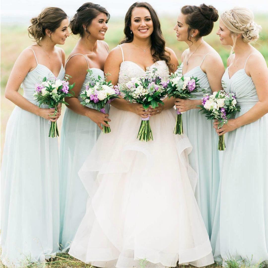 Summer Wedding Elegant Sage Chiffon Bridesmaid Dresses Spaghetti A Line Cheap Maid of Honor Gown Wedding Guest Dress BM0353