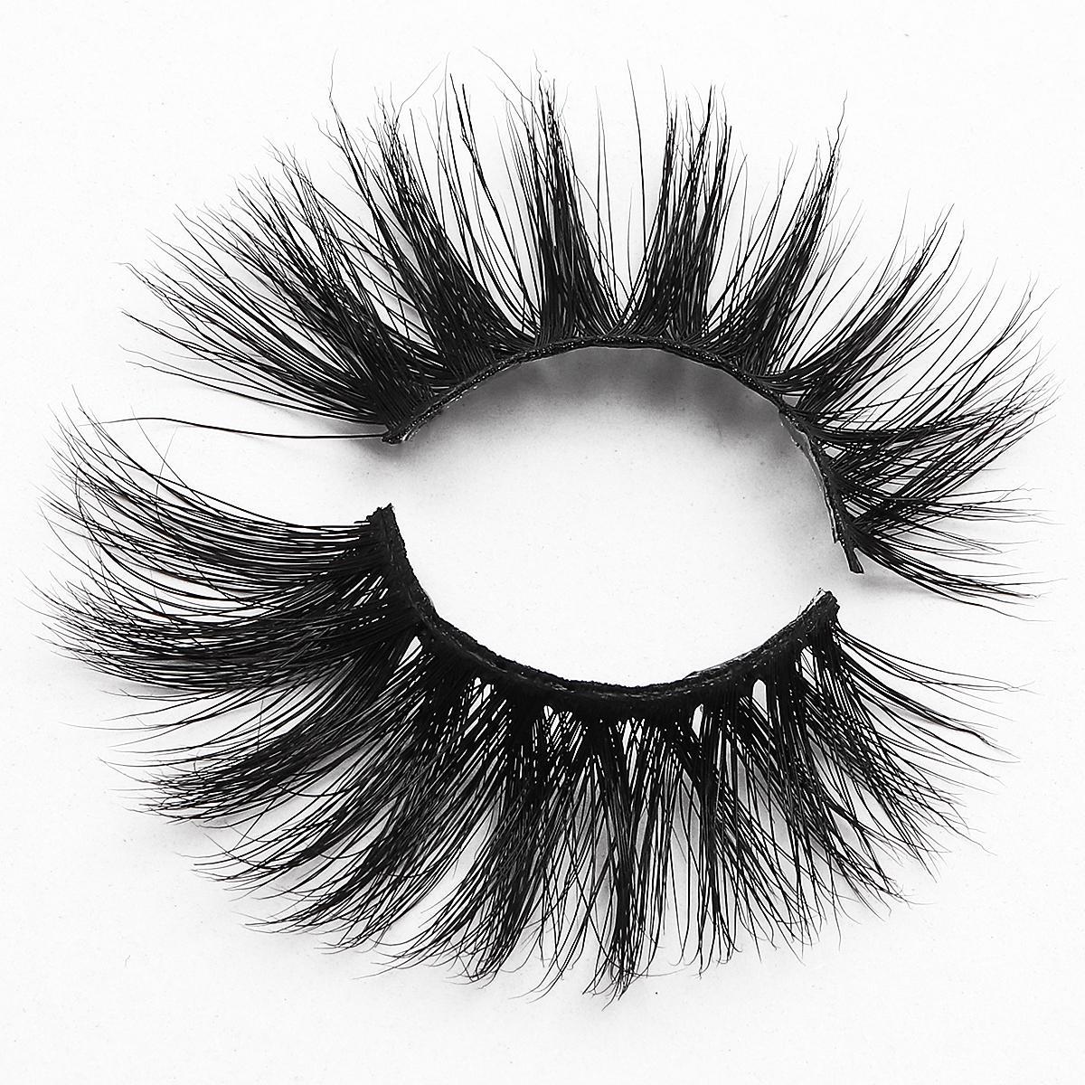 [Vizon Yanlış Eyelashes-MX21] toptan% 100 gerçek 5d vizon saç tek bir çift yanlış kirpik kirpik uzatma satıcılar
