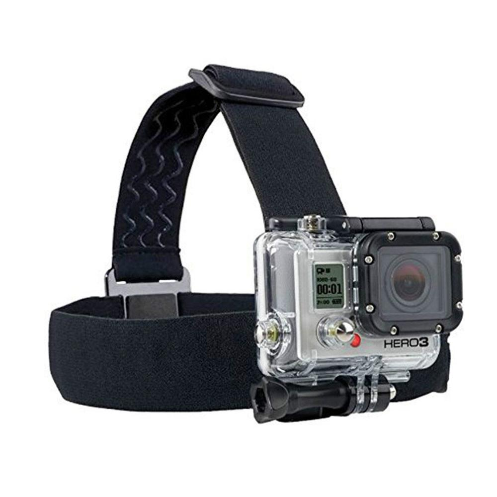 قابل للتعديل حزام الرأس يتصاعد ل gopro hero 7 6 5 4 3 ل xiaomi يي 4K عمل الكاميرا عقال ل gopro