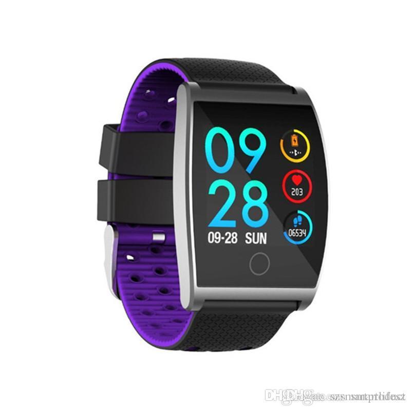QS05 smart watch homens mulheres rastreador de fitness 1.3-inch IPS Display pulseira Life impermeável Sports Wristwatch pulseira inteligente
