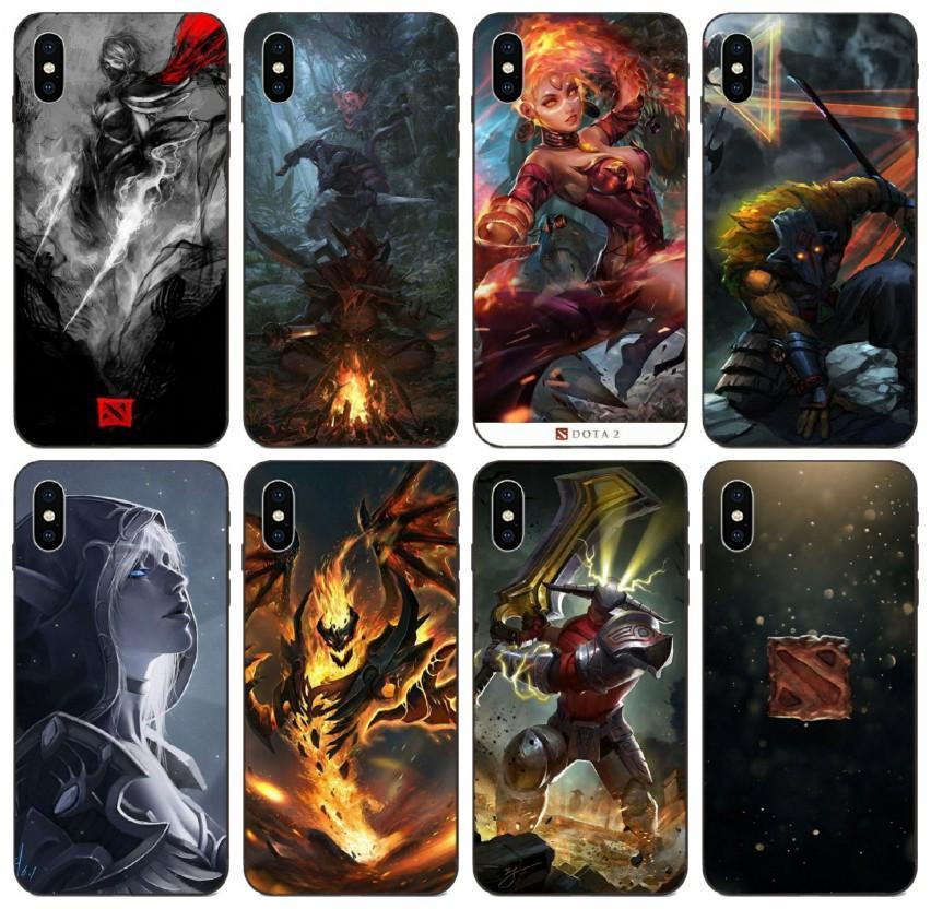 [TongTrade] Panda Tp Io Cw Gs Doom Dota 2 Case For iPhone 8 7 6s 5s Plus 11 Pro X XS Max Galaxy J1 Huawei P20 Sony Xperia Z Drop Proof Case