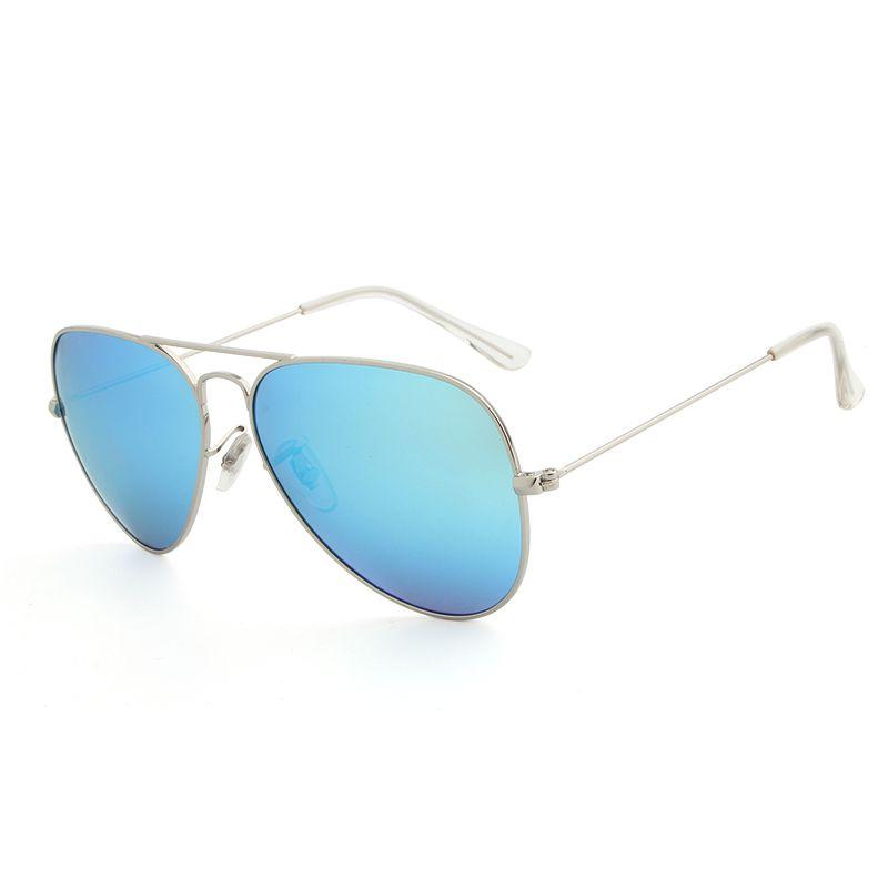 New designer pilot sonnenbrille für männer frauen outdoorsman sonnenbrille brillen gold braun 58mm 64mm glaslinsen mit fällen 14 farben
