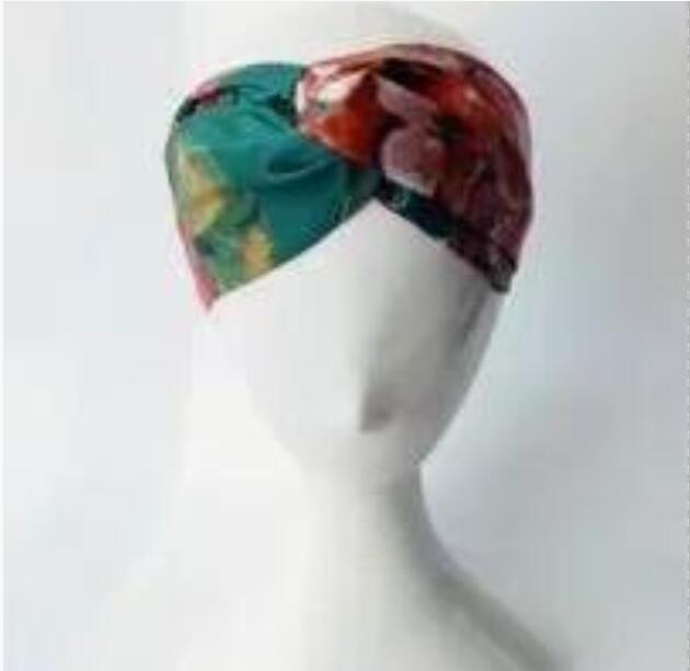 2020Elastic Stirnband für Frauen Mode Hair für Frauen-Mädchen-Retro Turban Headwraps Geschenke 3 Farbe Hot in Europa und Amerika Frühlingsmode