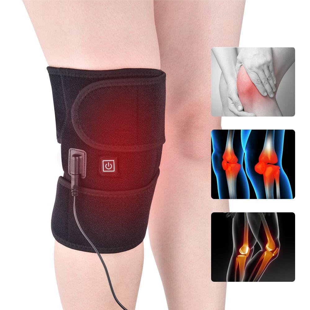 Elektrische keelet heizung alt kaltbein hotkomprompe knie pads entlastet knie schmerz strake wrap physiotherapie instrument für knie schulter elbow