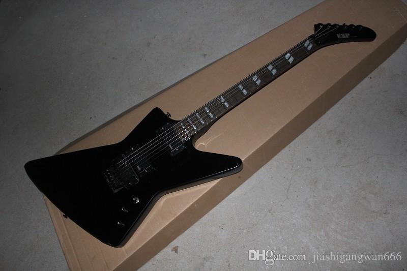 Ücretsiz Kargo Kurt Adam Fingerboard Özel Aktif Pikap Siyah James Hetfield Electric Guitar keşfedin