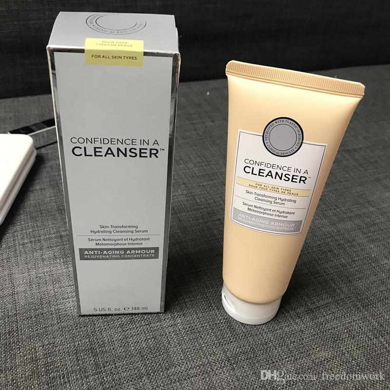 Cosméticos Confiança em um limpador de 148 ml de Pele-Transformando Soro de Limpeza Hidratante grande pele começa com confiança epacket frete grátis