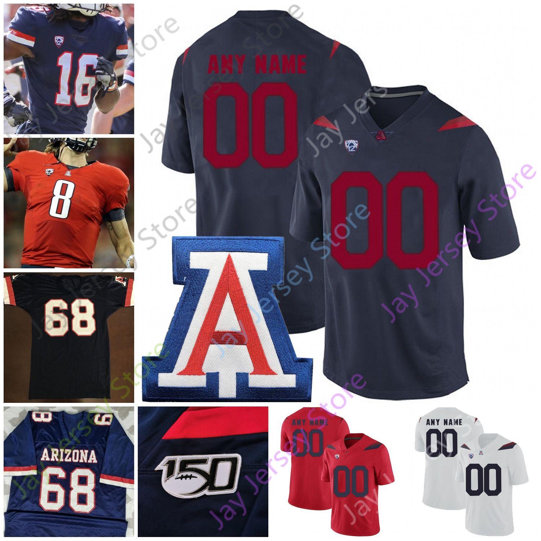 2021 Arizona Wildcats Football Jersey NCAA College Rob Gronkowski ...