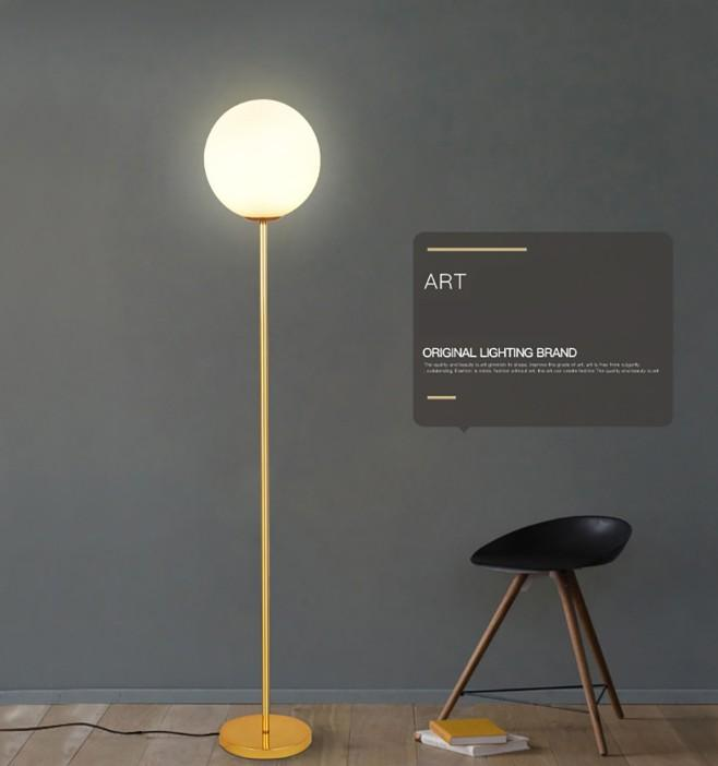 2020 Modern Marble Base Gold Floor Light Simple Frosted Glass Lampshade Led Standing Lamp Living Room Iron Decor Lampadaire Fixture Llfa From Volvo Dh2010 260 9 Dhgate Com