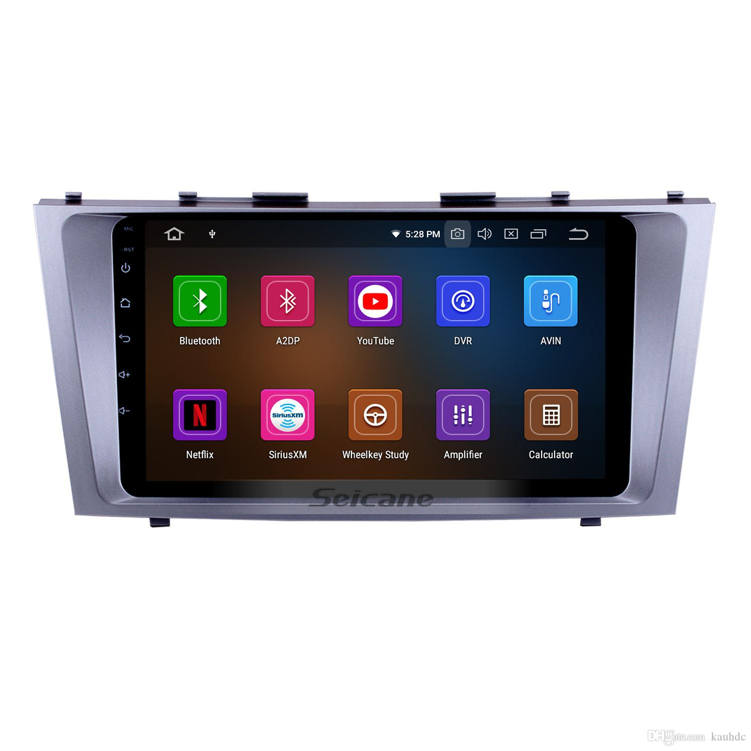 9 Inch Android 9.0 Car Multimedia Player For 2007-2011 Toyota CAMRY with 3G WiFi Bluetooth GPS Navigation system support OBD II Car dvd
